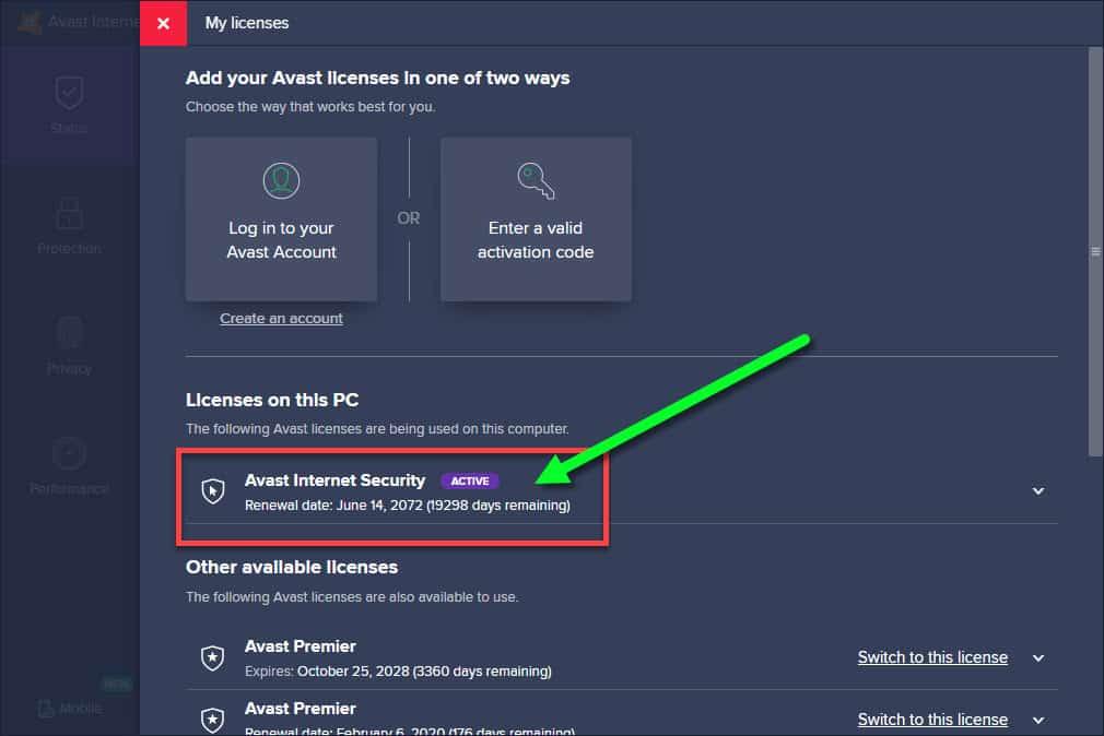 Avast Premier 2019 License Key Till 2060 - INFO TECH ...