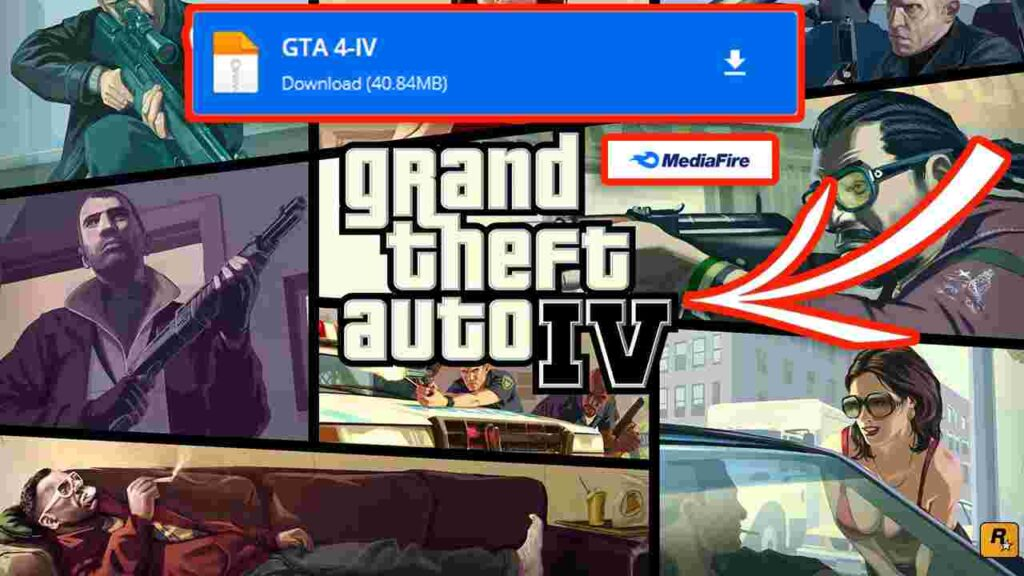 Download GTA 4-IV PPSSPP ISO