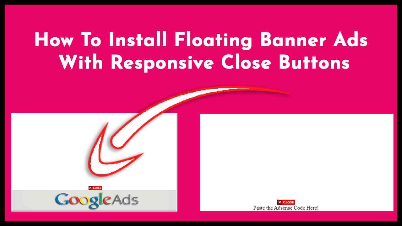 Floating Banner Ads