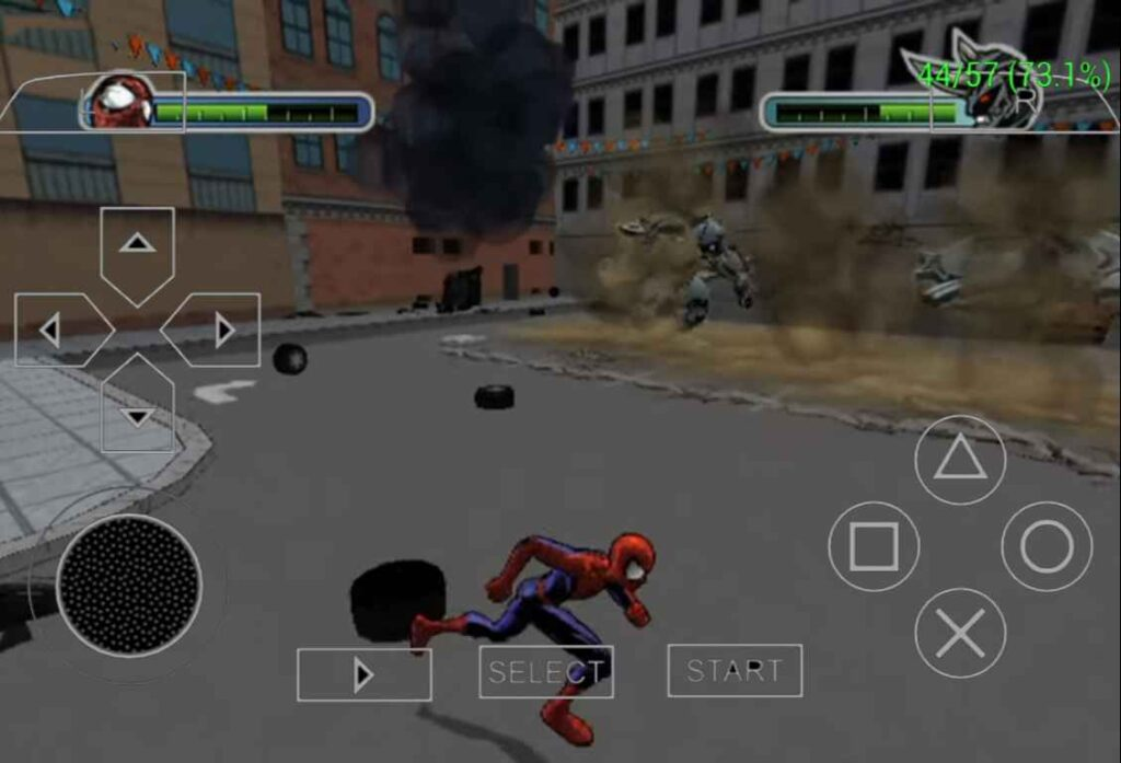 Ultimate Spider-Man PPSSPP